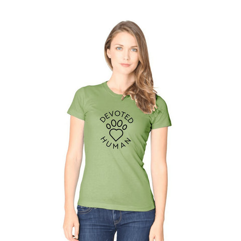 Devoted Human - women's avocado tee - Devoted Human