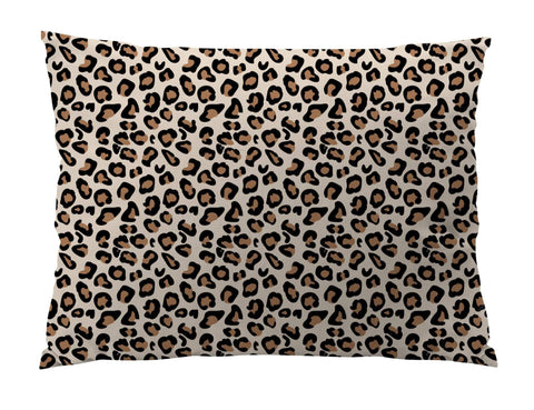 Leopard Print Indoor/Outdoor Dog Bed - Devoted Human