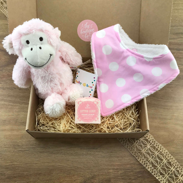 """Cotton Candy"" Baby Gift Bundle"