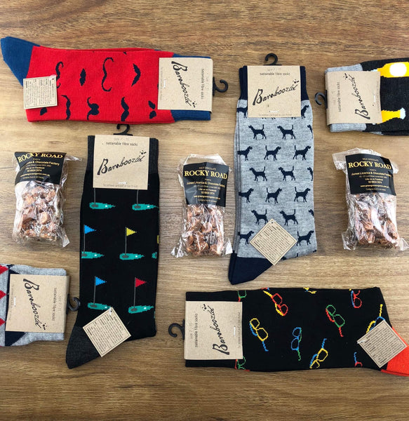 """Sock + Rock"" Men's Mystery Box"