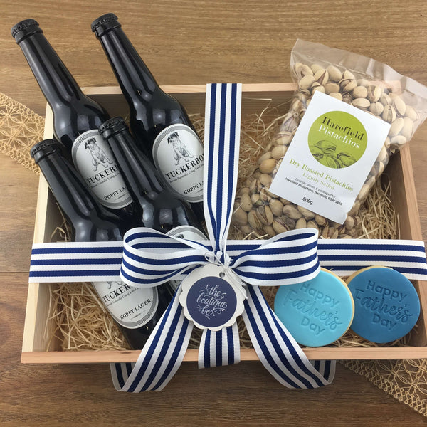 """Beer and Nuts"" Gift Hamper"
