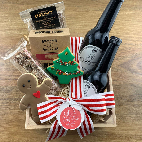 """Beer and Sweets"" Gift Crate"