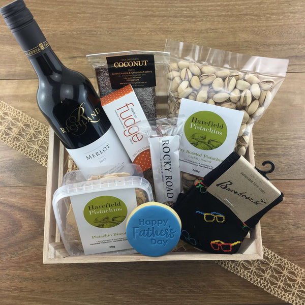 """Goodies Galore"" Father's Day Gift Crate"