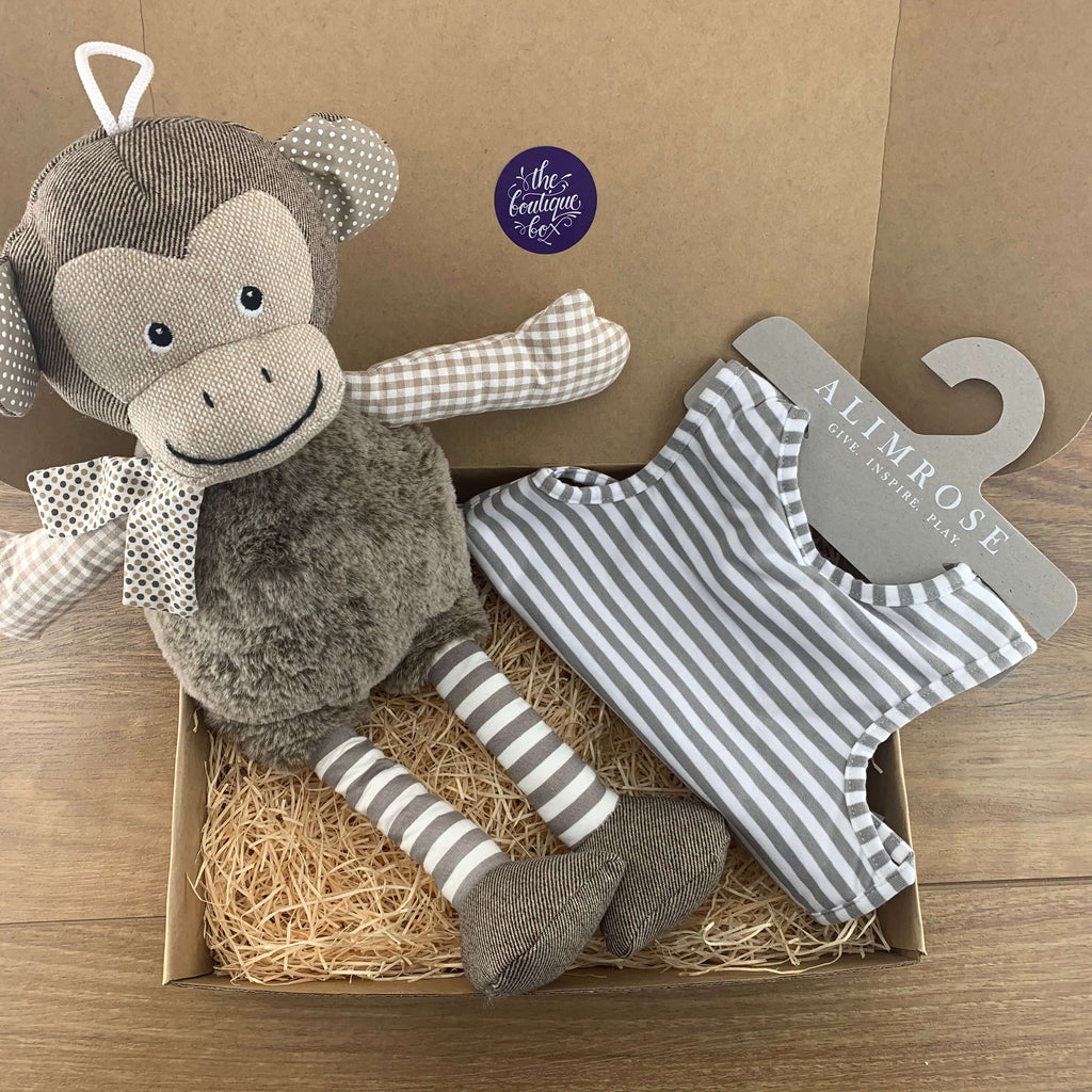 """Maxwell Monkey"" Baby Bundle"