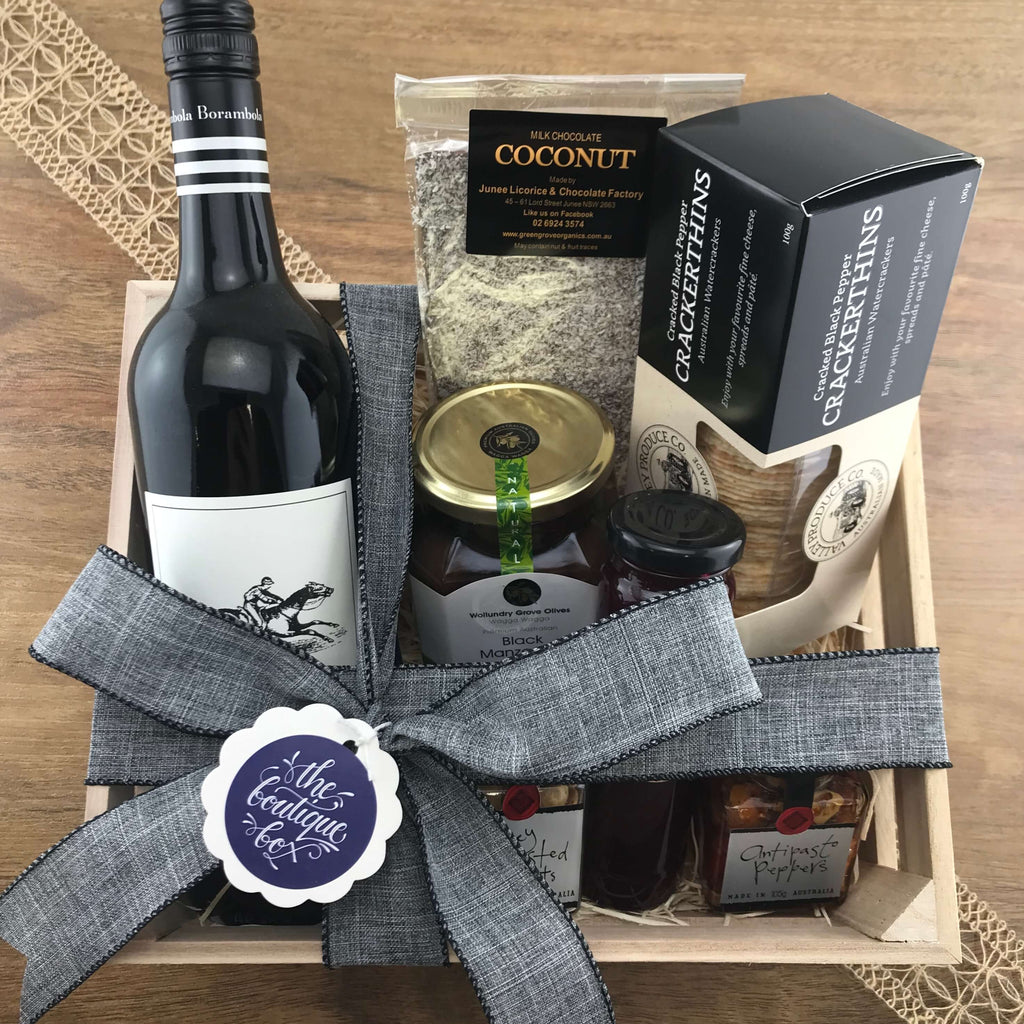 """The Silver Fox"" Gift Crate"