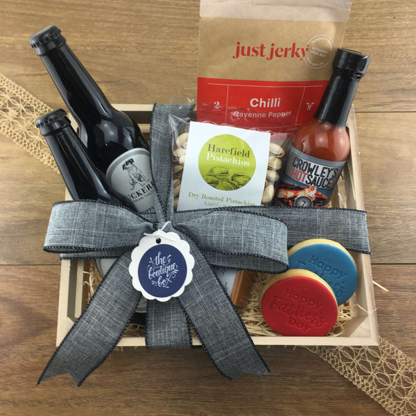 """The Spicy Dad"" Father's Day Gift Crate"