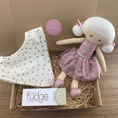 """Sweet Little Girl"" Baby Girl Gift Bundle"