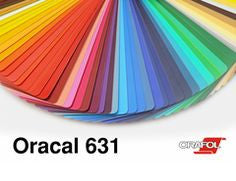 "Oracal 631 Vinyl Starter Pack - 5 12x12"" Sheets Oracal 631 Matte Removable Indoor Adhesive Vinyl"