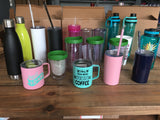 Closeout Drinkware Box! Assorted Tumblers & Water Bottles