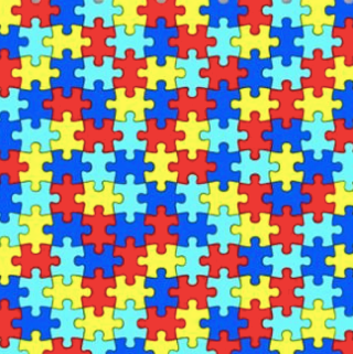 Autism Awareness Adhesive Vinyl