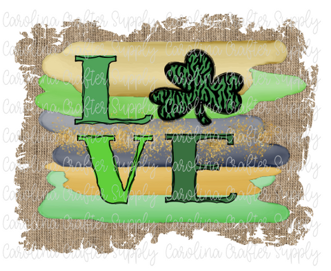 Saint Patrick's Day Sublimation Design