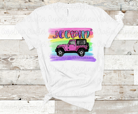 Jeep Sublimation Design