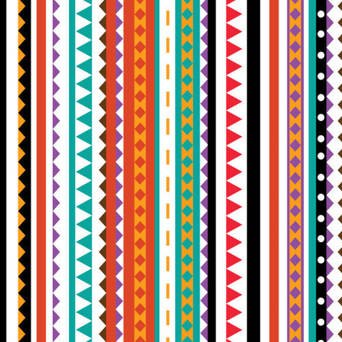 "Patterned HTV - Aztec Patterned Heat Transfer Vinyl, Aztec Heat Transfer Vinyl, Patterned HTV With Transfer Mask Included! 12x12"" Sheet"