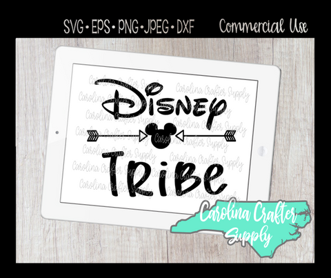 Disney Tribe SVG