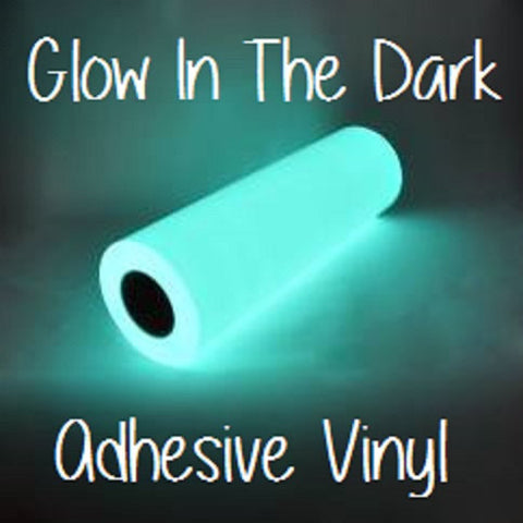"Glow In The Dark Adhesive Vinyl 12x12 Sheets Halloween Vinyl RTape GlowEfx Craft Vinyl Halloween Decoration 12x12"" Glow In The Dark Adhesive - Carolina Crafter Supply"