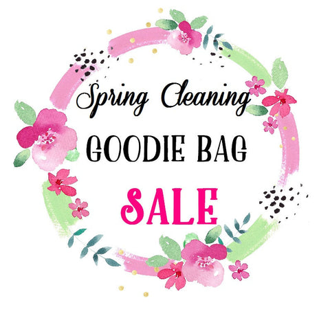 Goodie Bag - SALE - Spring Cleaning Adhesive Vinyl Pack, Heat Transfer Vinyl Pack, HTV & Adhesive Vinyl Mixed Pack