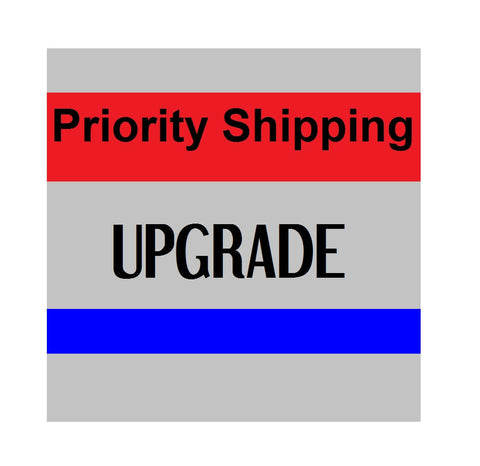 Shipping Upgrade - Priority Shipping Upgrade - Ship It Priority! 1-3 Day Estimated Delivery Shipping