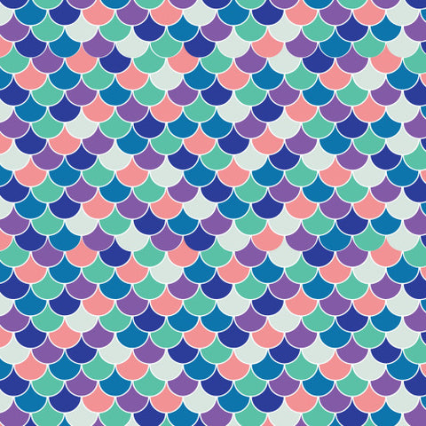 Patterned HTV Mermaid Scales Patterned Heat Transfer Vinyl Cool Patterned Heat Transfer Vinyl