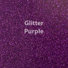 "Siser Glitter HTV - 1 12x20"" Purple Siser Glitter HTV, Siser Glitter Heat Transfer Vinyl, Purple Glitter HTV - Carolina Crafter Supply"