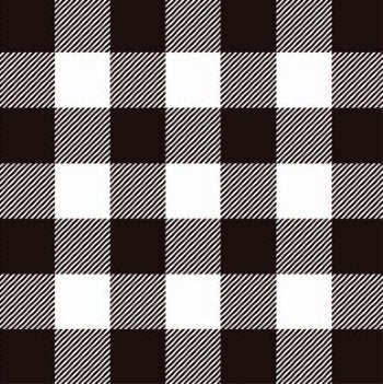 "Buffalo Plaid HTV - Black & White Buffalo Plaid Patterned Heat Transfer Vinyl, Buffalo Plaid Heat Transfer Vinyl, Patterned HTV Pre-Masked 12x12"" Sheet - Carolina Crafter Supply"