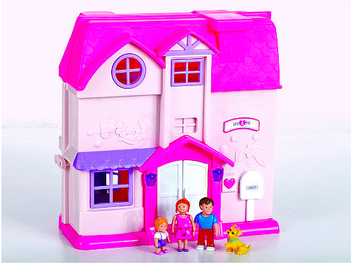 Let's play with the dollhouse!
