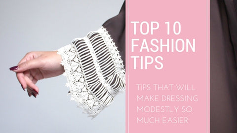 tips for dressing modestly