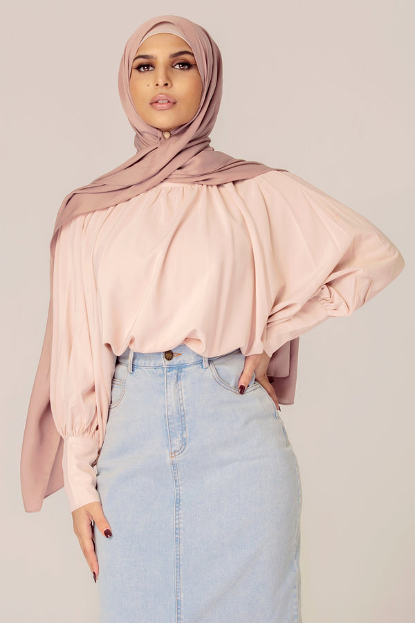 Batwing Cuffed Top