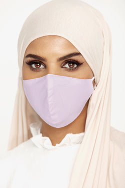 Cotton Face Mask - Light Pink