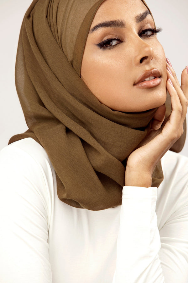 Essential Woven Hijab - Monteverde