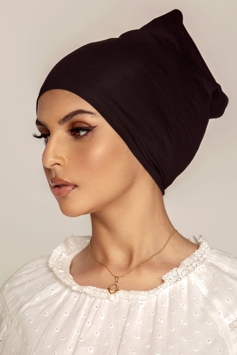 Cotton Undercap - Black