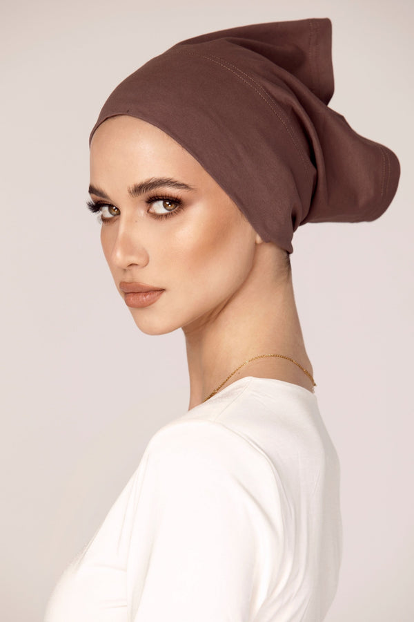 Cotton Undercap - Dark Taupe