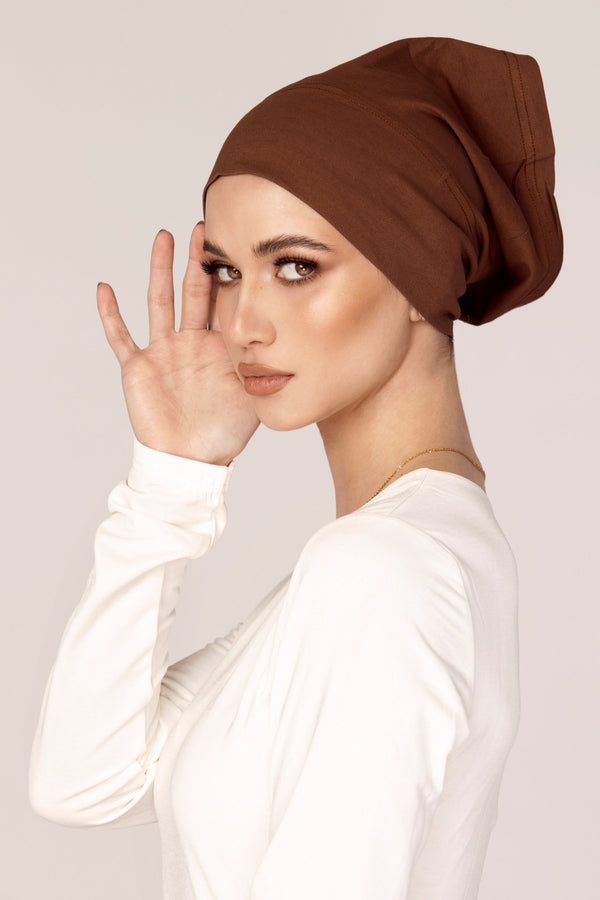 Cotton Undercap - Soft Brown