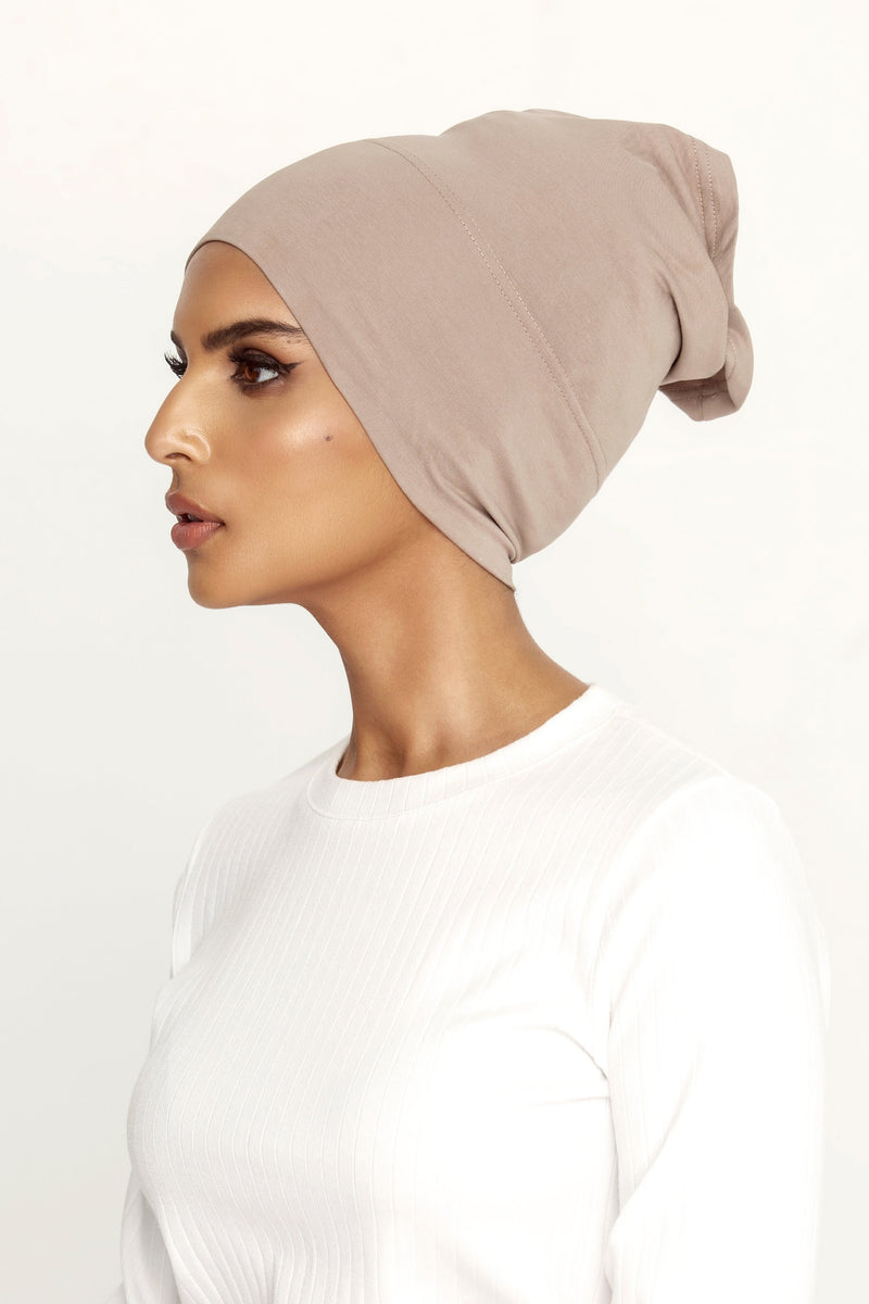 Cotton Undercap - Taupe