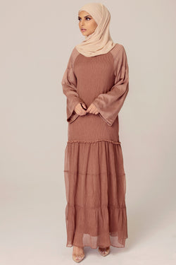 Dana Crinkle Maxi Dress