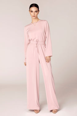 Dina Dusty Pink Two Piece Matching Set