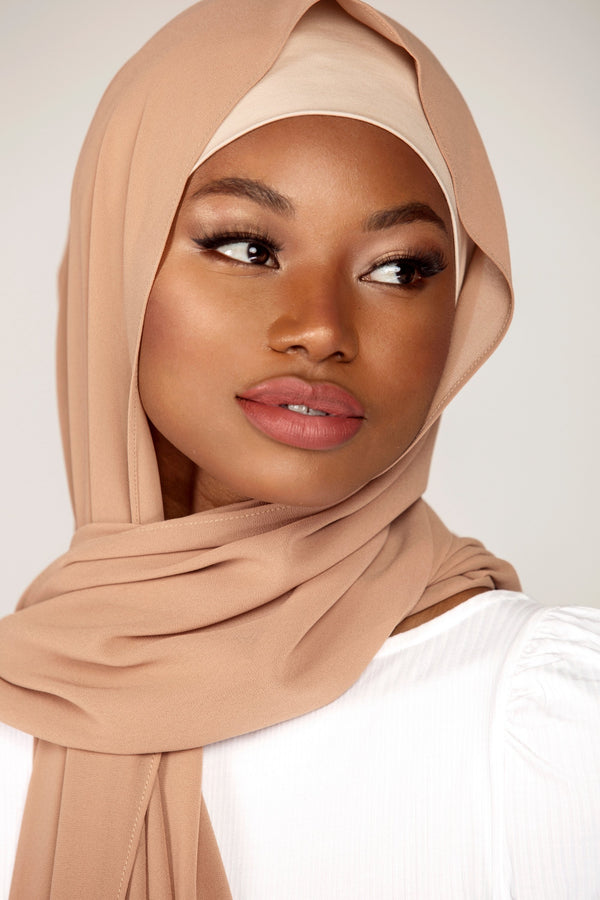 Essential Chiffon Hijab - Maple