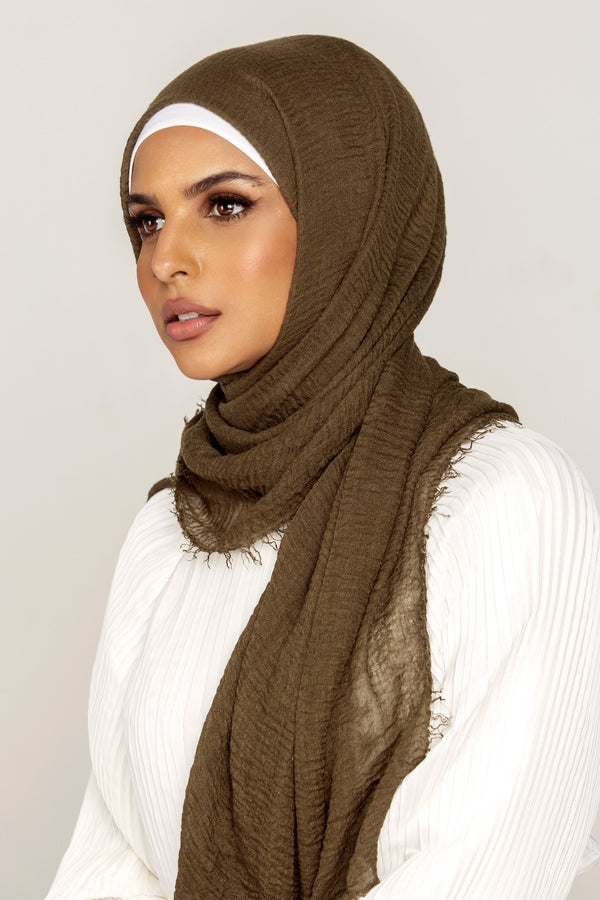 Everyday Crinkle Hijab - Foliage