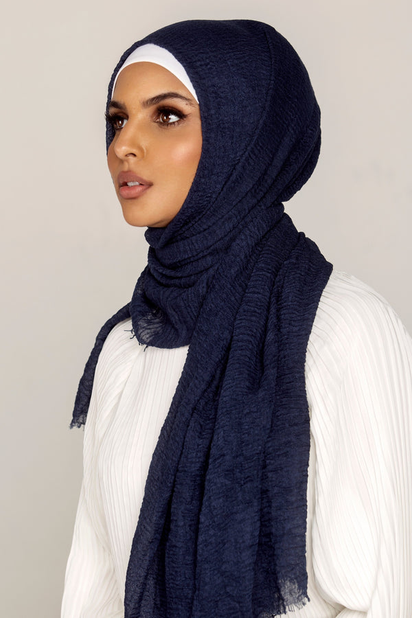 Everyday Crinkle Hijab - Night Sky