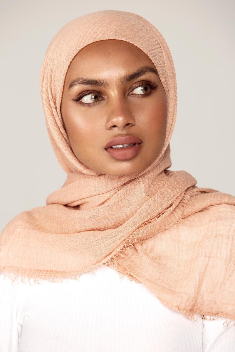 Everyday Crinkle Hijab - Shell