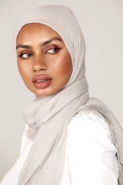 Everyday Crinkle Hijab - Smokey