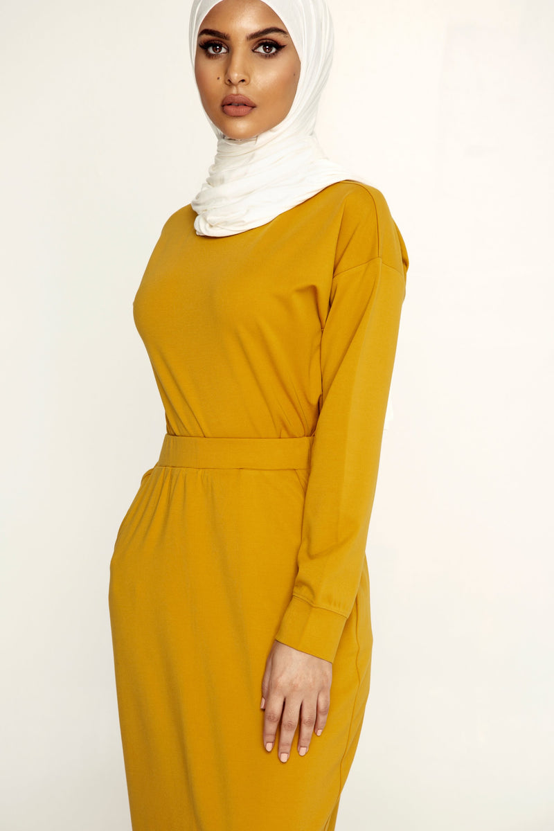 Jessie Skirt Set - Mustard