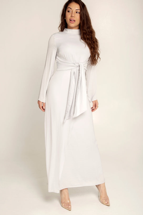 Madison Grey Dot Maxi Dress