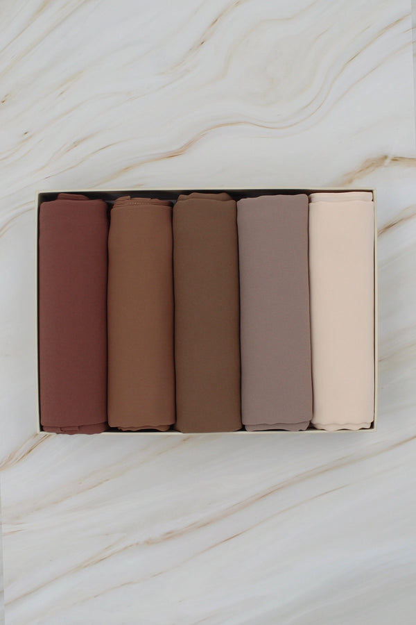 Must-Have Neutrals Palette Hijab Gift Set