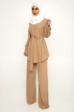 Nadia Everyday 2 Piece Set - Camel