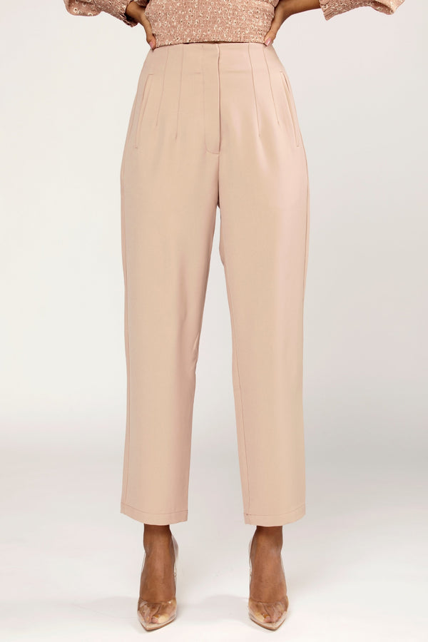 Rana High Waist Straight Leg Pants