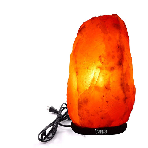 Purest Naturals Himalayan Salt Lamps Hand Carved Crystal Glow Rock Lamp On and off Dimmer Switch