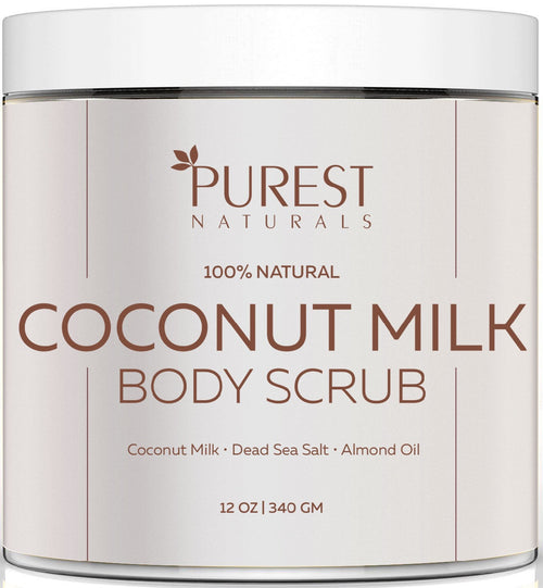 Purest Naturals Coconut Milk Body Scrub