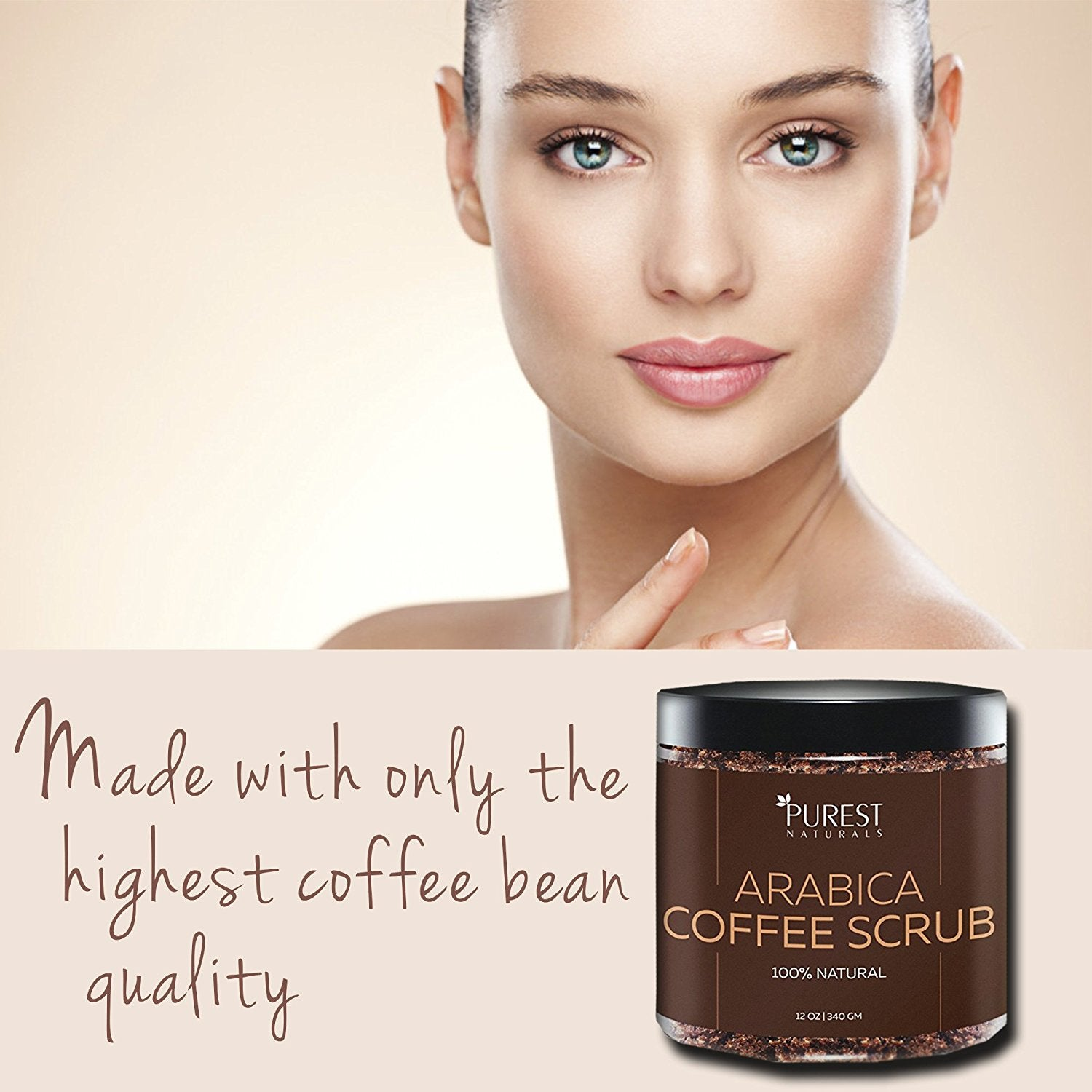 Purest Naturals Arabica Coffee Scrub