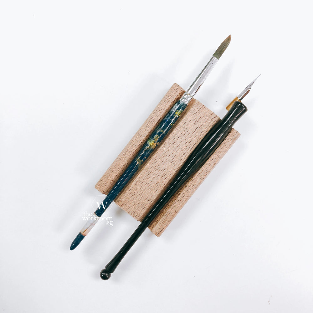 Pen Rest & Ink Holder