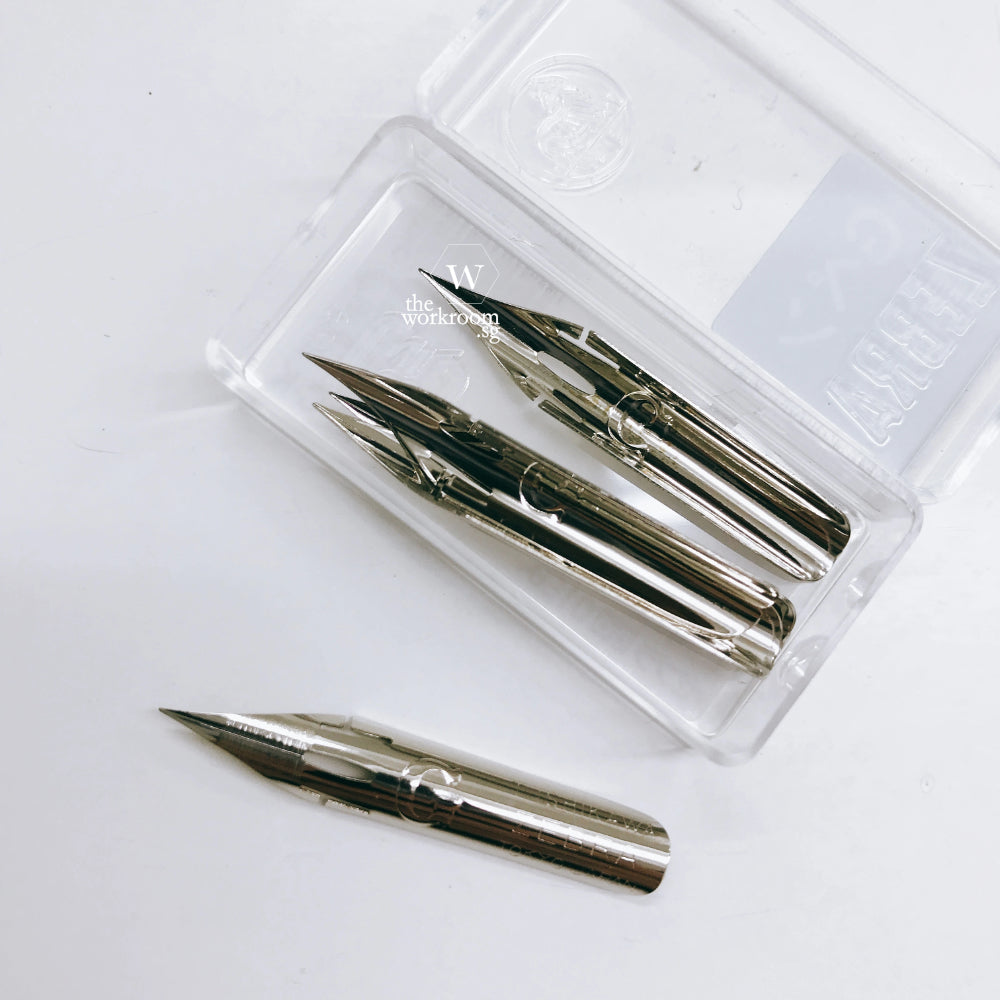 Zebra G - set of 3 nibs